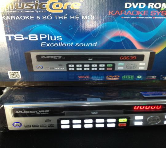 Đầu KARAOKE MUSICORE TS- 8 Plus