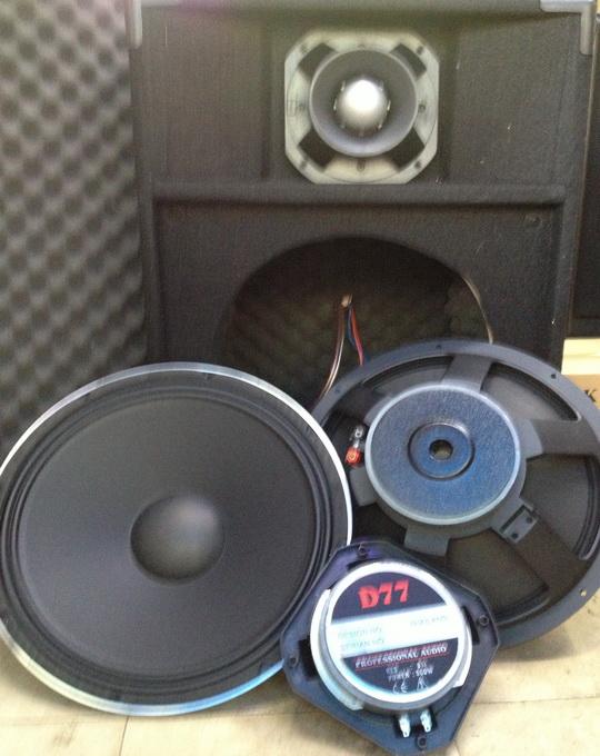 Loa Bass 4 tấc Sườn Nhôm