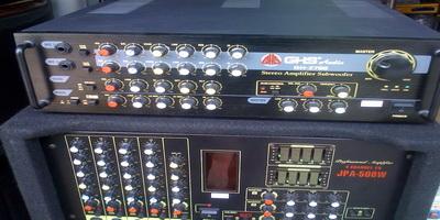 Ampli- Subwoofer 2700